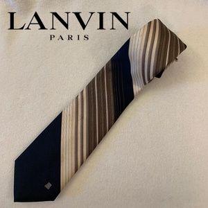 Lanvin ULtra Lux Silk Tie